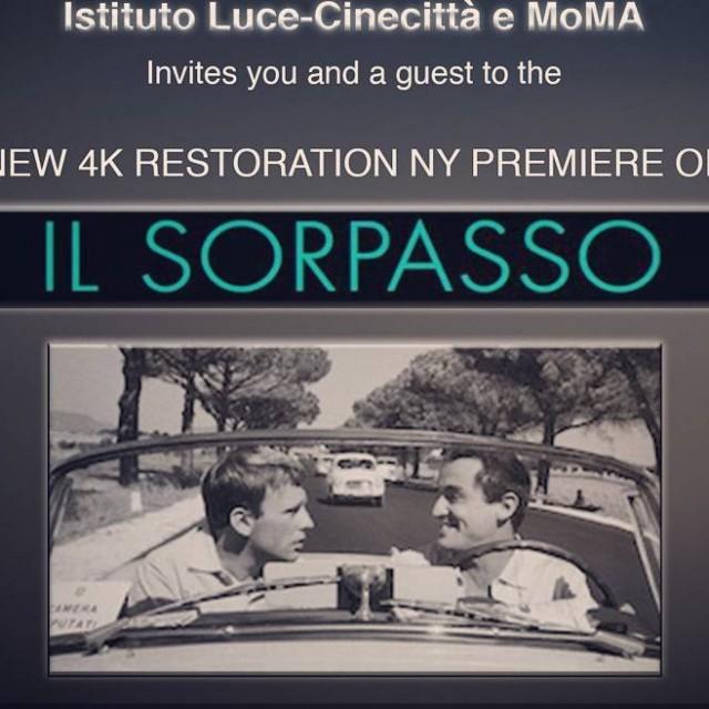 La retrospettiva di Dino Risi parte oggi 14 dicembre 2016hellip