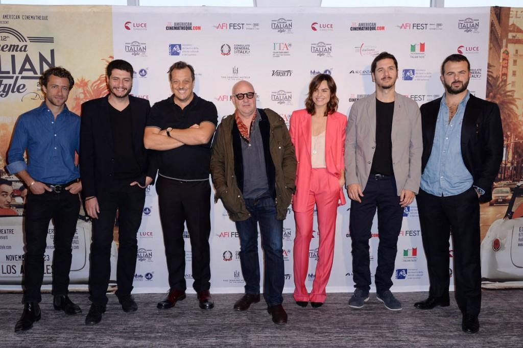 Francesco Carrozzini;Claudio Giovannesi;Gabriele Muccino;Gianfranco Rosi;Kasia Smutniak;Gabriele Mainetti;Edardo De Angelis