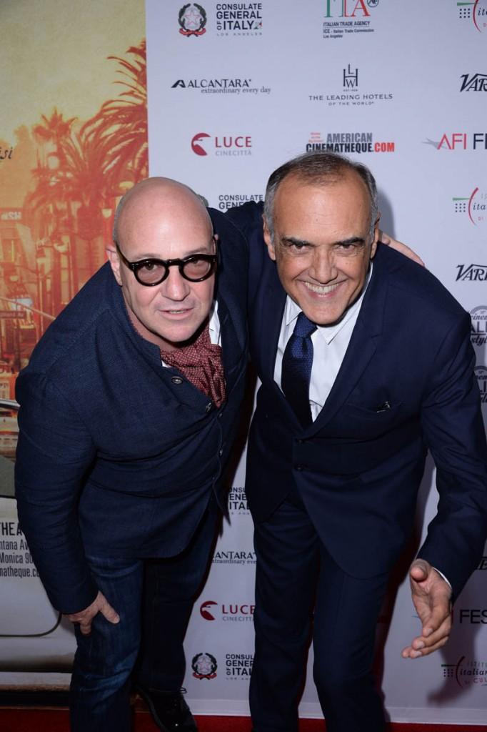 Gianfranco Rosi;Alberto Barbera