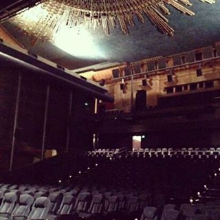 Renovation at The egyptiantheatre home of Italian cinema for 20hellip