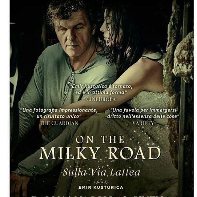 11 Maggio uscir in Italia il film OntheMilkyRoad di EmirKusturicahellip